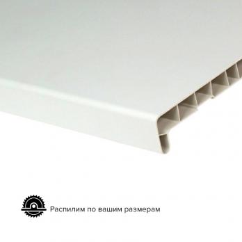 Подоконник пластиковый белый Народный пластик, ширина 100 мм