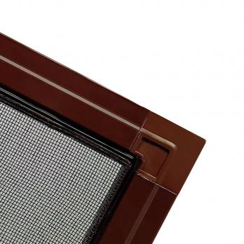 Москитная сетка на окна и двери ПВХ коричневая, м.кв.
