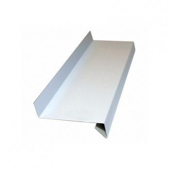 Водоотлив белый оконный (RAL 9003), м2