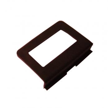 Ручка ПВХ для москитной сетки  коричневая