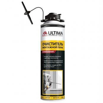 Очиститель монтажной пены ULTIMA 500 мл